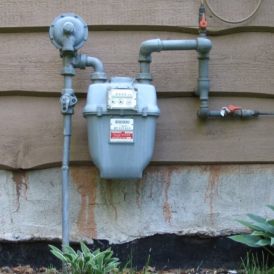 gas line repair needed after leak detection